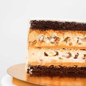 "Начинка авторского торта ""Безе в орехах"""