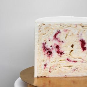"""Начинка авторского торта """"Мерегновый торт с малиной"""""""