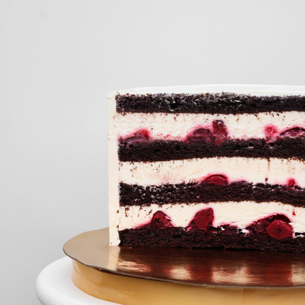 """Начинка авторского торта """"Зимняя вишня"""""""